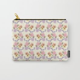 Floral pattern #02 Carry-All Pouch