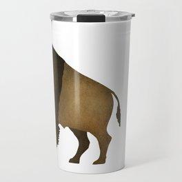 American Buffalo Bison Travel Mug