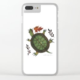 The Weight of the World Clear iPhone Case