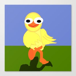 Whacky Bird Canvas Print