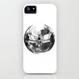 Moonmoth iPhone Case