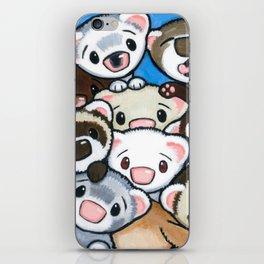 16 Ferrets iPhone Skin