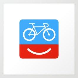 bicyclove Art Print