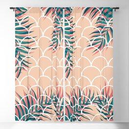 Tropical Window #society6 #decor #buyart Blackout Curtain