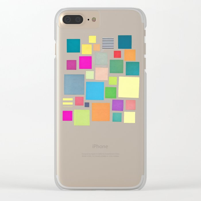 Squared Clear iPhone Case