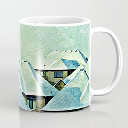 Urban Snow Caps Coffee Mug
