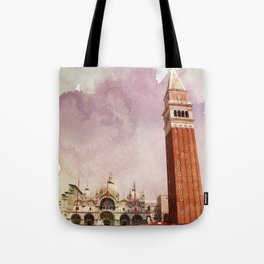 the Piazza Tote Bag
