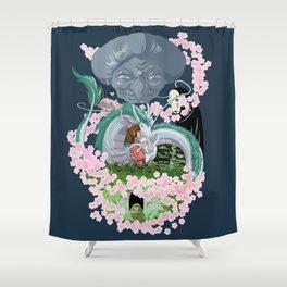 Sen's world Shower Curtain