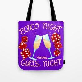 Bunco Night Tote Bag