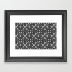 Dots 3 Framed Art Print