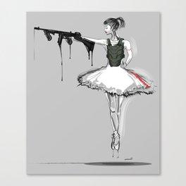 Balletressi Canvas Print