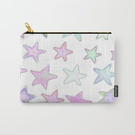 Funky Pastel Stars! Carry-All Pouch