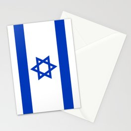 Israel Flag - High Quality image Stationery Cards