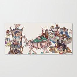 Entremet Canvas Print