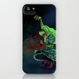 Time is Running Out - Alice iPhone Case