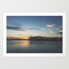 San Diego Sunrise Art Print