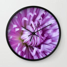 Purple Claws Wall Clock