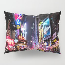 New York City Night Pillow Sham