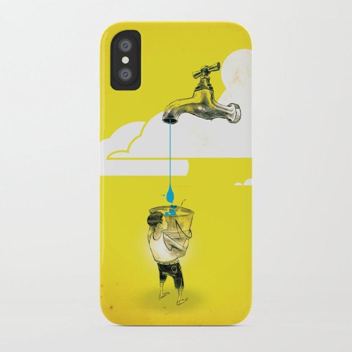"Glue Network Print Series ""Water / Hygiene / Sanitation"" iPhone Case"