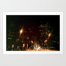 Lost in Some City No. 3 Art Print