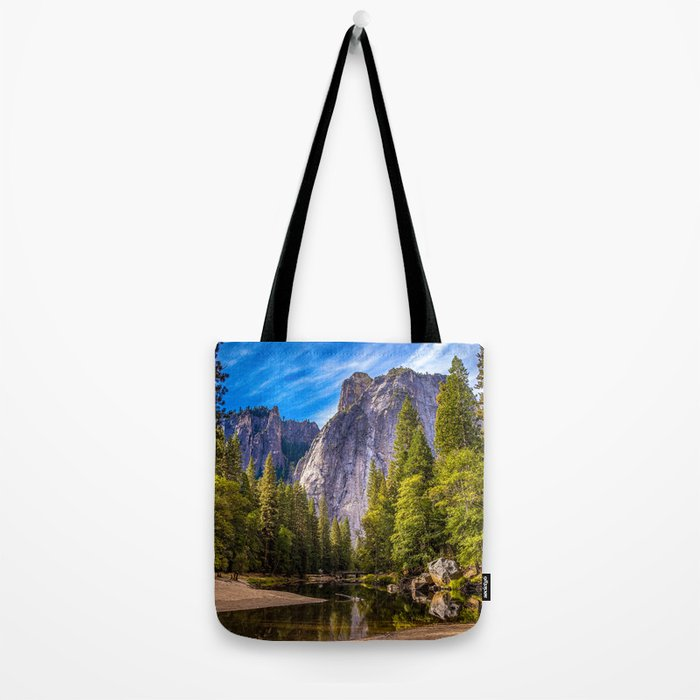 Mighty Mountains Tote Bag