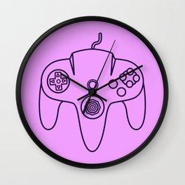 Nintendo 64 Controller - Retro Style! Wall Clock