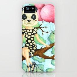 Panda Girl iPhone Case