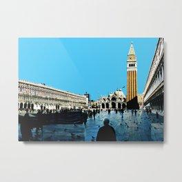 Venezia Panorama San Marco by FRANKENBERG Metal Print