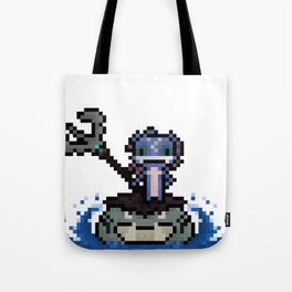 Fizz, The Pixel Trickster Tote Bag