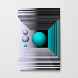 3D-geometry -4- Metal Print