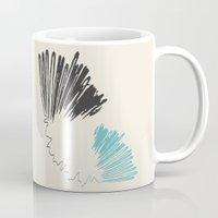 polar bear Mugs featuring Polar Bear by By Nordic
