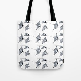 Manta ray devil fish Tote Bag