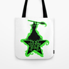 Chance To Fly Tote Bag