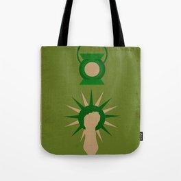 Minimalistic Lantern Tote Bag