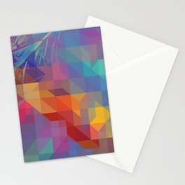 Fragmented Microcosms Stationery Cards