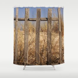 Fence to the Sky! Shower Curtain