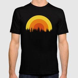 summer mountain T-shirt