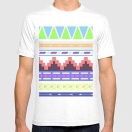 Aztec Pattern; T-shirt