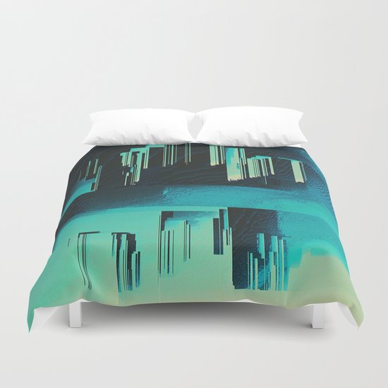 Underwater City Duvet Cover