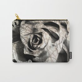 Rose forming from light and shadows Carry-All Pouch