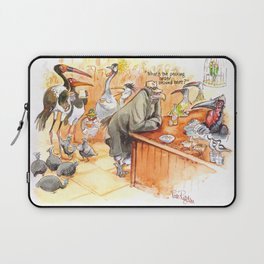Birds's bar Laptop Sleeve