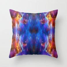 Staggering Spectrum Throw Pillow