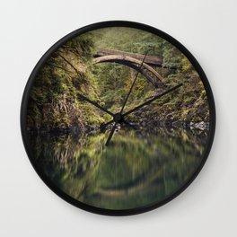 Moulton Falls Bridge Wall Clock