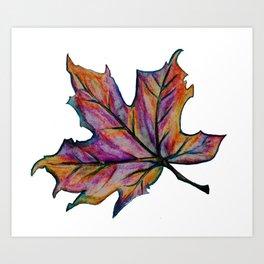 The Fall Season Art Print