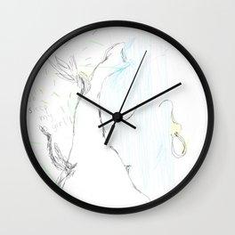 sleep my girl Wall Clock