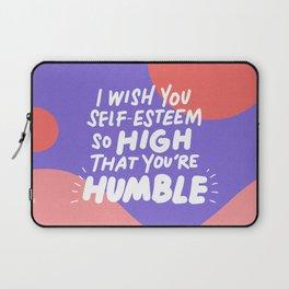 so high Laptop Sleeve
