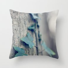 Sleeping Ivy Throw Pillow