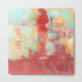 Ascension, Abstract Art Painting Metal Print