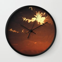 Harvey's Approach (Cloud series #11) Wall Clock