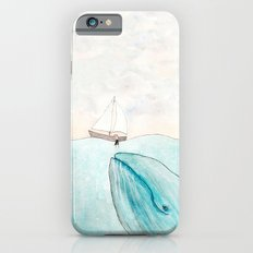 Whale watching iPhone 6s Slim Case